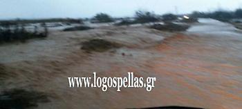 Σάρωσε και την Κ. Μακεδονία η κακοκαιρία -Πλημμύρισαν σπίτια, ξεριζώθηκαν δέντρα, 1 αγνοούμενος