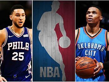 ΝΒΑ: Οι 4 παίκτες που μπορούν να τελειώσουν σεζόν με μέσο όρο τριπλ-νταμπλ!
