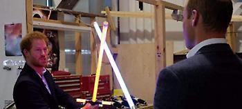 Πρίγκιπες στο Star Wars: Ο Χάρι και ο Ουίλιαμ εμφανίζονται στη νέα ταινία