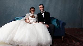 Το γαμήλιο άλμπουμ της Σερένα Γουίλιαμς (pics)