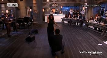 Το τσιφτετέλι της Ειρήνης Κολιδά στην εκπομπή του Σπύρου Παπαδόπουλου (video)