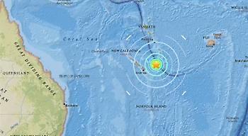 Νέος σεισμός 7R στη Νέα Καληδονία