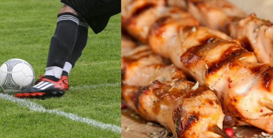 Σουβλάκι και ποδόσφαιρο: Μεγαλώνουν, μεγαλώνουν, γερά παιδιά…