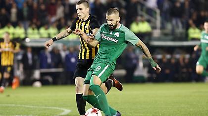 Μολίνς: «Τυχερό το γκολ της ΑΕΚ, ελπίζω να επιστρέψει σύντομα ο Τσάβες»