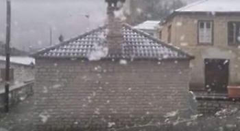 Με παγωνιά ξύπνησαν χωριά των Ιωαννίνων, στους -5°C η θερμοκρασία (video)