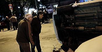 Ένας νεκρός και δύο τραυματίες σε σύγκρουση ΙΧ αυτοκινήτου με ταξί