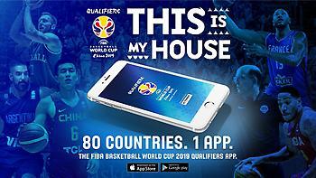 Κυκλοφόρησε η εφαρμογή της FIBA για τα προκριματικά του Παγκοσμίου Κυπέλλου