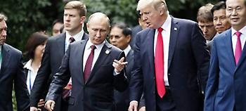 Μία ώρα μιλούσαν στο τηλέφωνο Τραμπ και Πούτιν