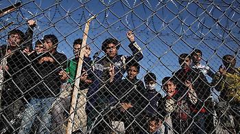 Συλλήψεις επτά ανήλικων προσφύγων στον καταυλισμό της Μόριας