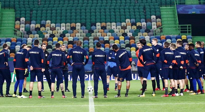 Champions League: Παίζει τα ρέστα του στη Λισσαβόνα ο Ολυμπιακός