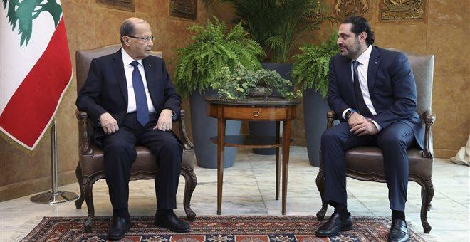 Λίβανος: Ο Χαρίρι ανέστειλε την παραίτησή του από την πρωθυπουργία