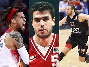 Ολυμπιακός – Μιλάνο: Οι παίκτες που φόρεσαν τα κόκκινα… δυο φορές