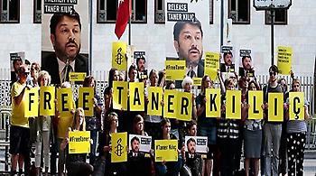 Τουρκία: Θα παραμείνει στη φυλακή ως γκιουλενιστής ο πρόεδρος της Διεθνούς Αμνηστίας