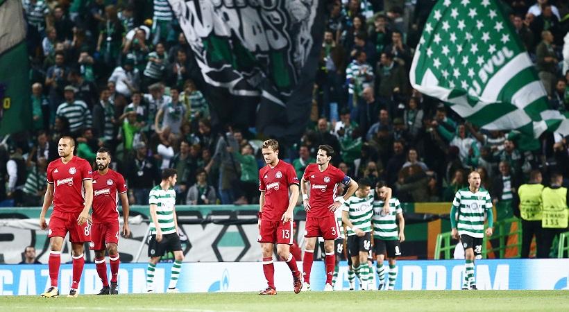 Champions League: Σπόρτινγκ Λισαβόνας - Ολυμπιακός 3-1 (video)