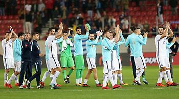 Σταθερά 47η η Εθνική στην κατάταξη της FIFA