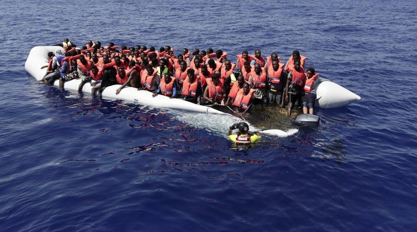 Λιβύη: Νεκρή μία γυναίκα πάνω σε φουσκωτό με 108 μετανάστες