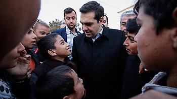 Τσίπρας: Είμαι υπερήφανος για το πώς ζουν 60.000 μετανάστες στην Ελλάδα