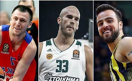 Ευρωλίγκα: Οι 20 παίκτες που θα παίξουν στα προκριματικά της FIBA