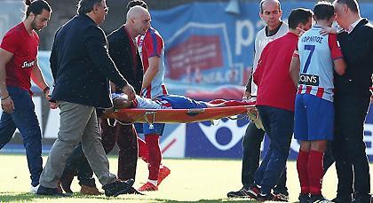 Το μήνυμα του Ταμπόκο μετά τον σοβαρό τραυματισμό του (pic)