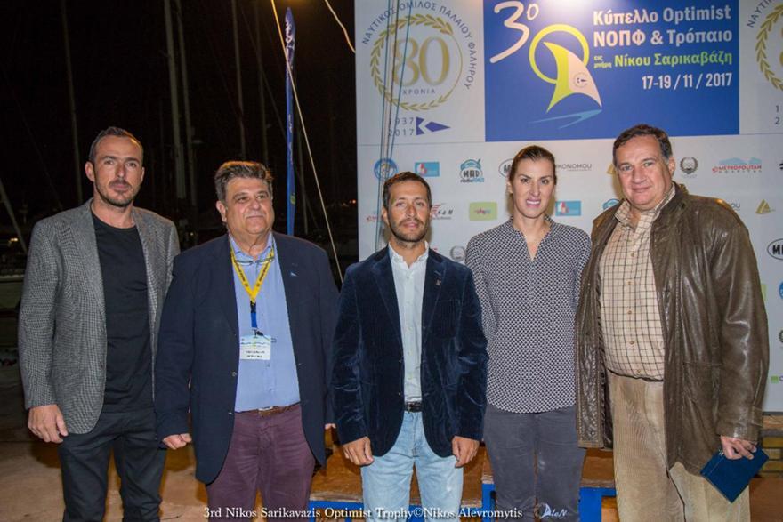 Με επιτυχία το «3ο Κύπελλο Optimist- Τρόπαιο Ν. Σαρικαβάζη»