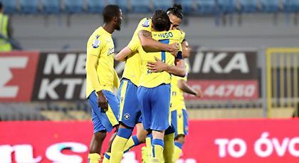 LIVE: Αστέρας Τρίπολης-Κέρκυρα 4-0