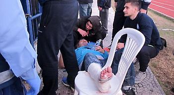 Τραυματίστηκε οπαδός του Ηρακλή στον Λαγκαδά!