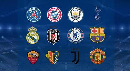 Αυτές είναι ομάδες που έχουν προκριθεί ήδη στους «16» του Champions League