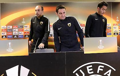 Χιμένεθ: «Να βάλουμε το αυριανό ματς στην ιστορία της ΑΕΚ»