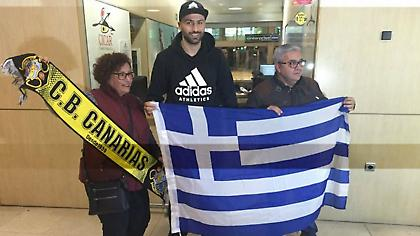 Στην Τενερίφη με ελληνική σημαία ο Βασιλειάδης (pic)