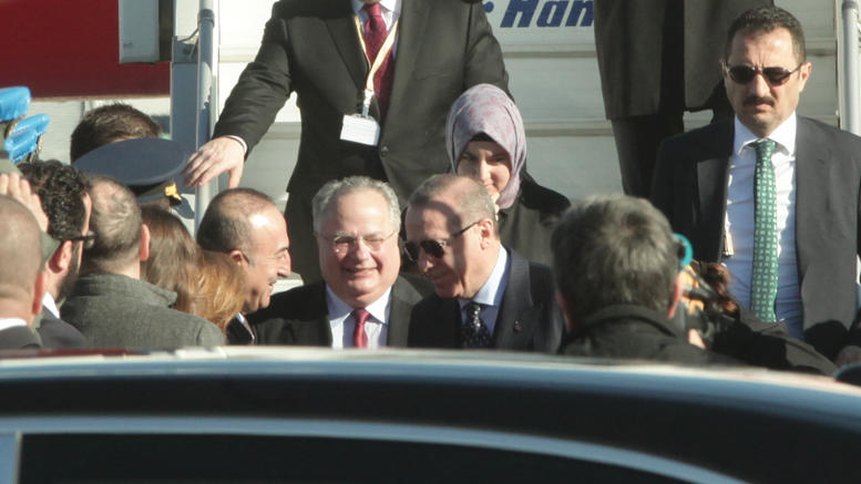 To αστείο του Ερντογάν στο αεροδρόμιο και η απάντηση Κοτζιά