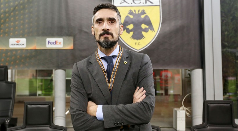 Λυμπερόπουλος: «Ευλογημένος που δουλεύω με αυτούς τους παίκτες»