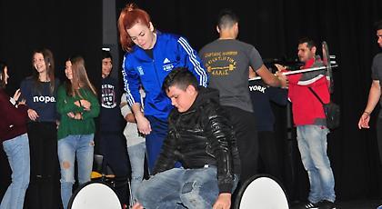 Οι μαθητές του Πολυγύρου «αγκάλιασαν» την άρση βαρών