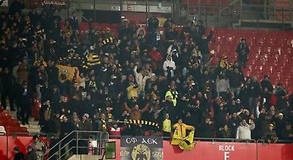 Οι Αυστριακοί… χάζεψαν με τον κόσμο της ΑΕΚ στη Βιέννη! (video)