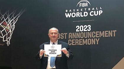 Σε Φιλιππίνες, Ιαπωνία και Ινδονησία το Μουντομπάσκετ 2023!