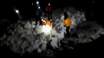 Η επιχείρηση διάσωσης των ορειβατών στον Ολυμπο