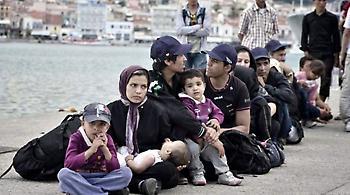 Η Κρήτη υποδέχτηκε 262 πρόσφυγες από τη Λέσβο