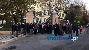 Κατάληψη του ΠΑΜΕ στο υπουργείο Μακεδονίας - Θράκης