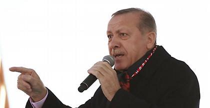 Ερντογάν: Η απόφαση Τραμπ κάνει τις ΗΠΑ εταίρο στην αιματοχυσία