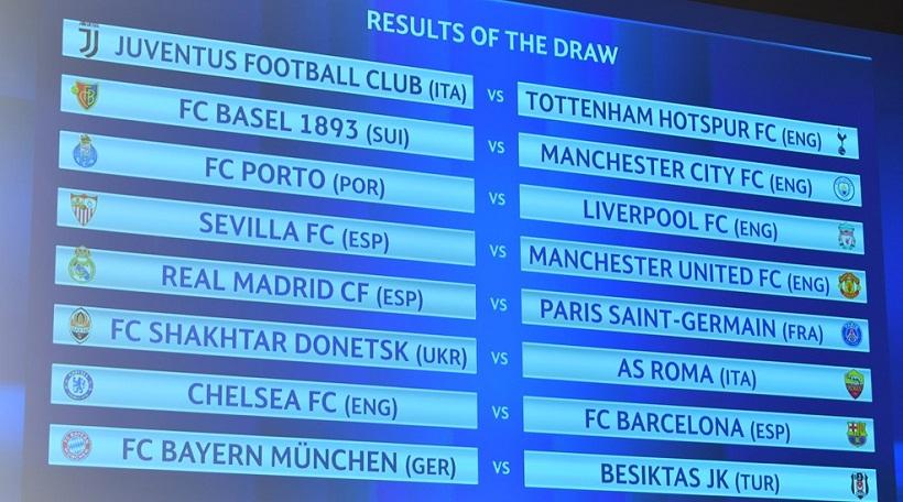 Champions League: Ματσάρες Ρεάλ-Παρί και Τσέλσι-Μπάρτσα στους «16»!