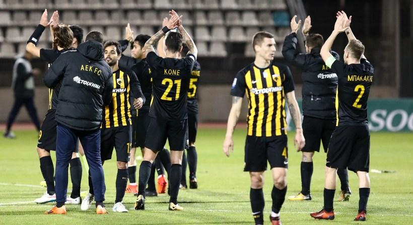Η αντίδραση των παικτών της ΑΕΚ στο… άκουσμα «Ντιναμό Κιέβου» (pic)