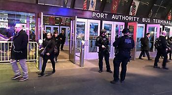 Βίντεο: Η στιγμή της έκρηξης στο σταθμό της Νέας Υόρκης