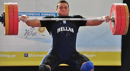 Με επιτυχία ολοκληρώθηκαν τα Πανελλήνια Πρωταθλήματα άρσης βαρών