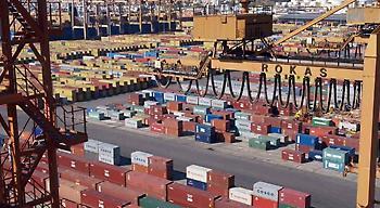 Ενίσχυση των εξαγωγών κατά 13% το δεκάμηνο Ιανουαρίου - Οκτωβρίου