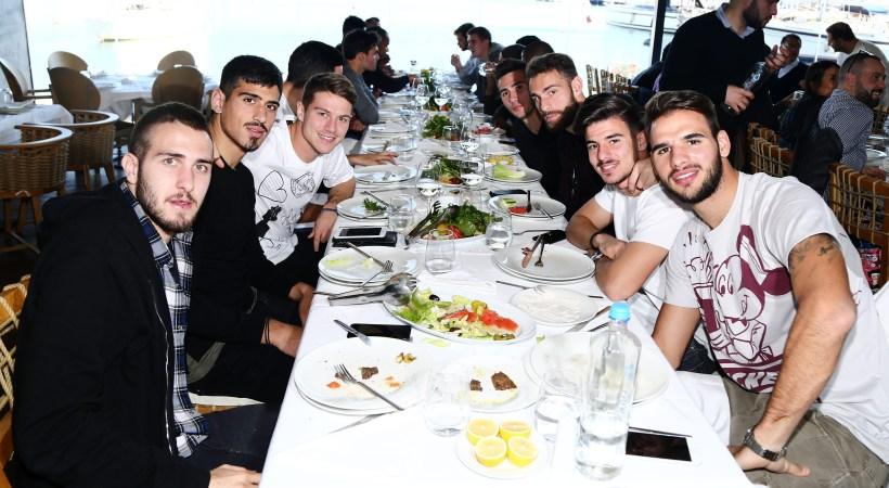 Γεύμα ενότητας στον Ολυμπιακό