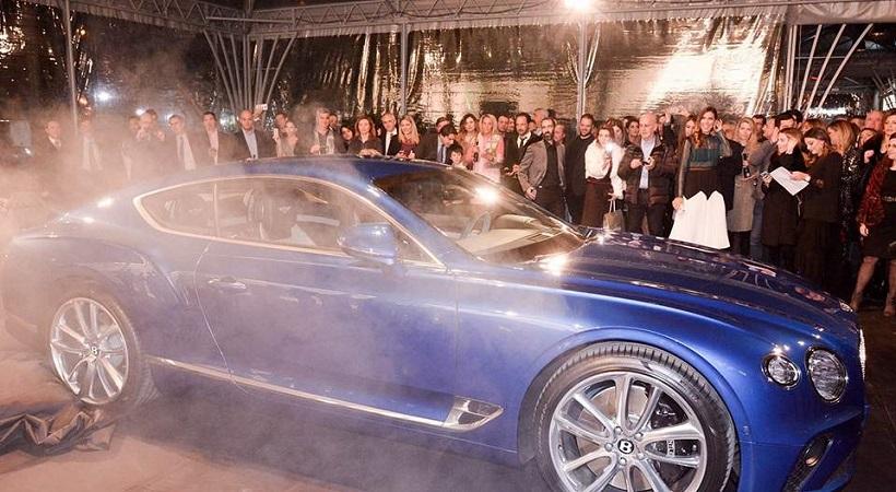 Αποκαλύφθηκε η νέα Bentley Continental GT στην Ελλάδα (vid)