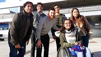 Συγκλονιστικό βίντεο της Μπαρτσελόνα για την πρόσφυγα οπαδό της (video)