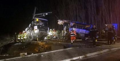 Γαλλία: Έξι παιδιά νεκρά από σύγκρουση τρένου με σχολικό λεωφορείο