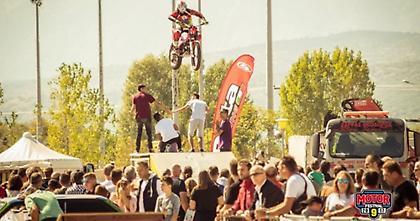 Πτήσεις αδρεναλίνης στο X Motor Festival των Τρικάλων!