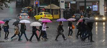 Βροχές και πτώση της θερμοκρασίας την Κυριακή, πού θα χιονίσει