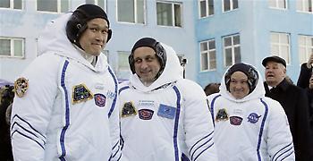 Καζακστάν: Πύραυλος Σογιούζ πετά για τον Διεθνή Διαστημικό Σταθμό